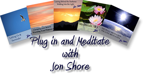 Plug in and meditate by Jon Shore