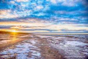 Jurmala Latvia Beach in Winter by Jon Shore