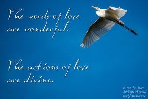 words of love